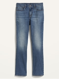 Boot-Cut Built-In Flex Jeans For Men