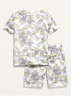 Printed Pajama Set for Boys