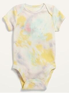 Cache-couche à imprimé à manches courtes pour Bébé