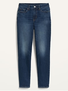 High-Waisted O.G. Straight Ankle Jeans for Women