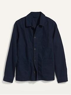 Canvas Chore Jacket for Men