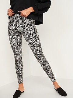 High-Waisted Stevie Pintucked Patterned Pants for Women