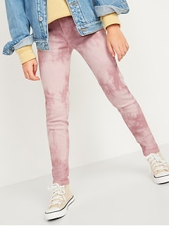 Ballerina 360° Stretch Tie-Dye Jeggings for Girls
