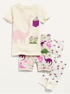 3-Piece Pajama Set For Toddler & Baby