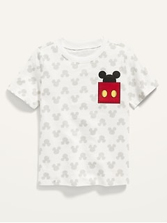 Unisex Disney© Mickey Mouse Short-Sleeve Tee for Toddler