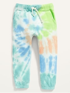 Unisex Vintage Tie-Dye Jogger Sweatpants for Toddler