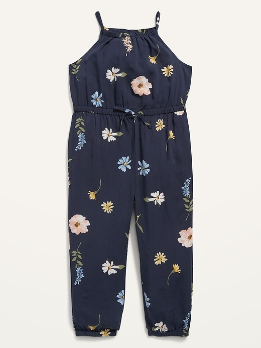 Sleeveless Printed Jumpsuit for Toddler Girls