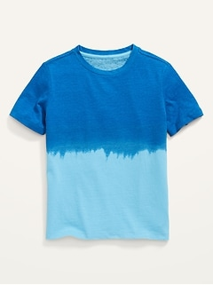 Vintage Crew-Neck Tee for Boys