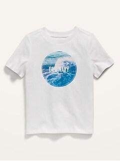 Unisex Logo-Graphic Short-Sleeve Tee for Toddler