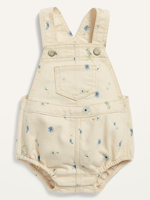 Jean Overall Bubble One-Piece for Baby
