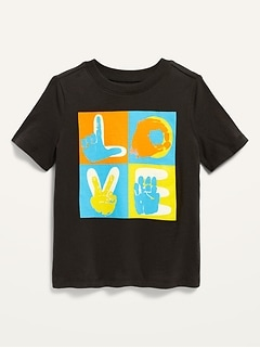 Unisex Graphic Short-Sleeve Tee for Toddler