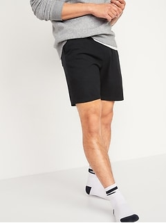 Jersey-Knit Pajama Shorts for Men -- 7.5-inch inseam