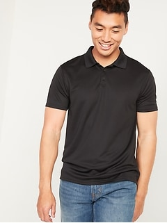 Go-Dry Cool Odor-Control Mesh Core Polo Shirt for Men