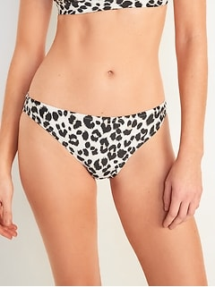Bas de bikini à taille mi-basse pour Femme