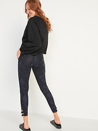 High-Waisted Jersey Side-Knot Leggings for Women