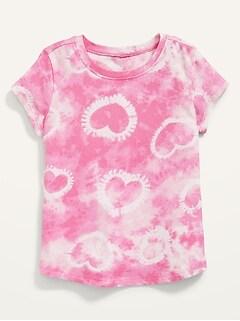 T-shirt imprimé à manches courtes pour Toute-petite