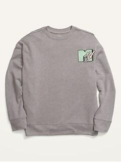 Gender-Neutral Licensed Pop-Culture Sweatshirt for Kids