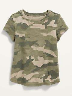 Unisex Printed Short-Sleeve Tee for Toddler