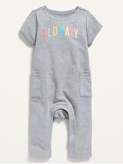 Une-pièce en jersey bouclette à logo pour Bébé