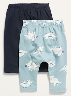 2-Pack U-Shaped Jersey Pants for Baby