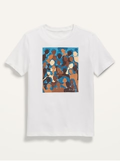 Project WE Black History Month Tee by Reyna Noriega for Kids