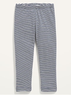Full-Length Striped Leggings for Toddler Girls