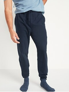 Tapered Jersey-Knit Pajama Pants for Men