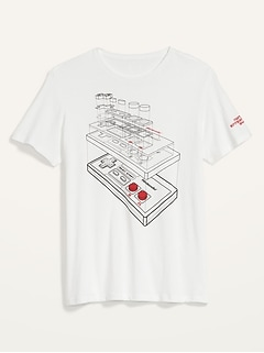 Nintendo® Controller Gender-Neutral Graphic Tee for Adults