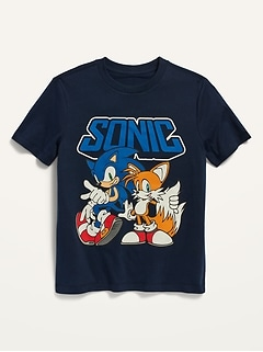 Sonic the Hedgehog™ Gender-Neutral Graphic T-Shirt for Kids