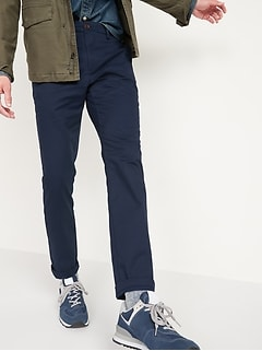 Straight Ultimate Built-In Flex Chino Pants for Men