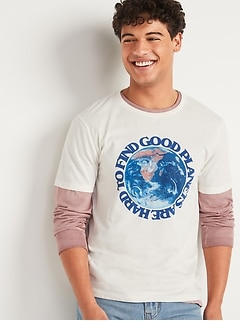 Earth Day Matching Graphic Tee for Men