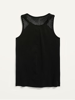 Fitted Go-Dry Seamless Tank for Girls