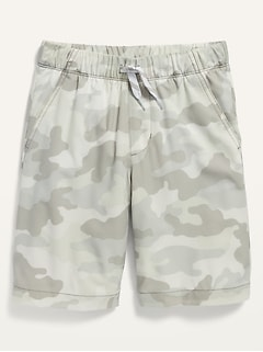 Built-In Flex Tech Jogger Shorts for Boys