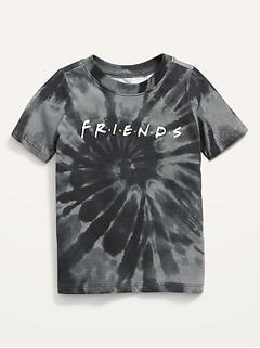 T-shirt unisexe à logo Friends™ teint par nœuds pour Tout-petit