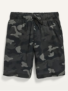 Built-In Flex Flat-Front Jogger Shorts for Boys