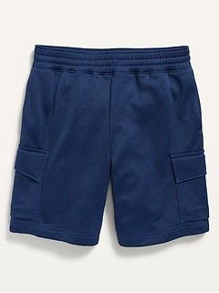 Go-Dry French Terry Cargo Performance Shorts for Boys