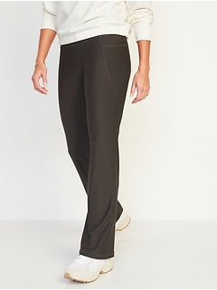High-Waisted Powersoft Slim Boot-Cut Compression Pants for Women