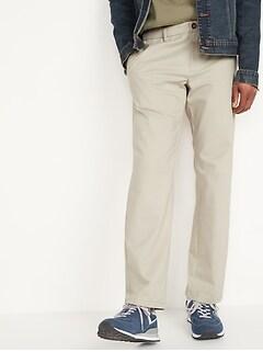 Loose Ultimate Built-In Flex Chino Pants for Men