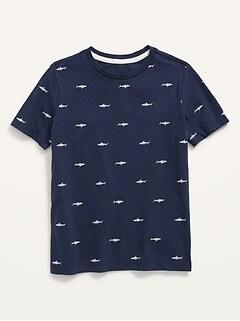 T-shirt à encolure ras du cou le plus doux pour garçon