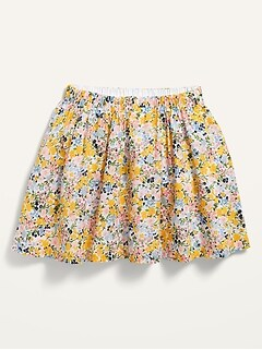 Printed Pull-On Skirt for Toddler Girls