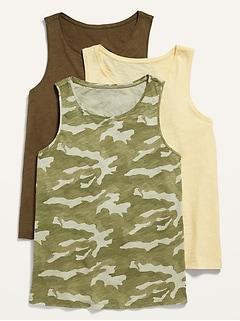 EveryWear Tank Top 3-Pack for Women