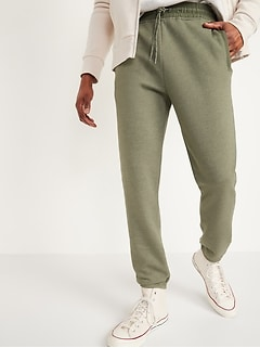Tapered Woven-Trim Zip-Pocket Sweatpants for Men