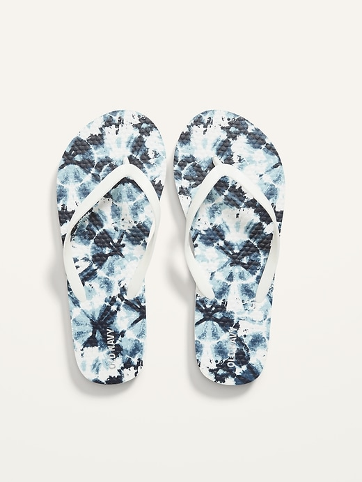 Gender-Neutral Printed Flip-Flop Sandals for Kids