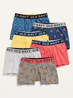 Boxer-Briefs 6-Pack for Boys