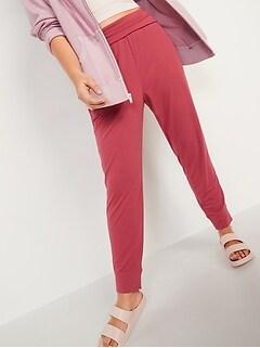 Pantalon d'exercice à taille mi-basse pour Femme