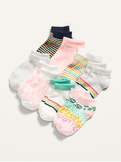 Unisex Ankle Socks 8-Pack for Toddler & Baby