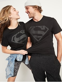 DC Comics™ Superman Gender-Neutral Graphic Tee for Adults