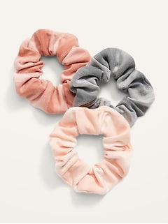 Hair Scrunchie 3-Pack for Women