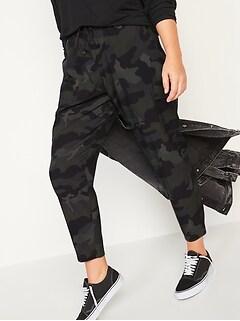 Pantalon cargo StretchTech longueur à la cheville à taille moyenne pour femme