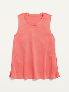 Ultra-Lite Go-Dry Convertible Muscle Tunic Tank for Girls